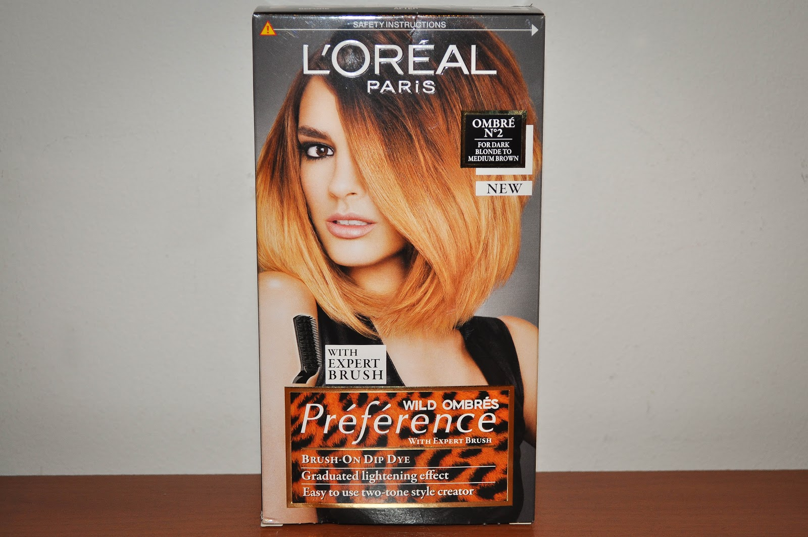 Oreal Preference Wild Ombre Kit Review
