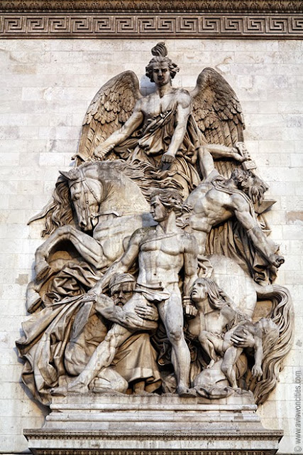 Arc de Triomphe Relief