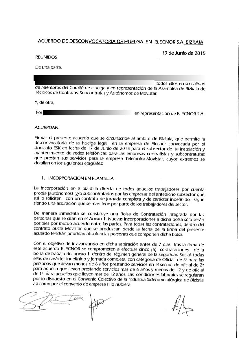 junio 2015 | Contratas, Subcontratas y Autonom@s de Telefónica ...