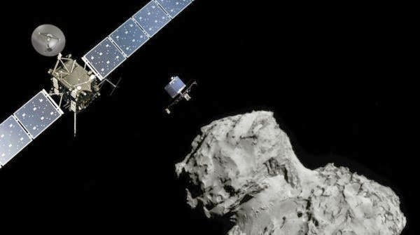 ESA/ATG medialab; Comet image: ESA/Rosetta/Navcam)