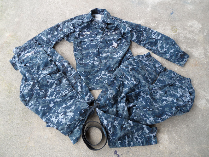 US Navy Digital Camo, Navy Work Uniform, NWU