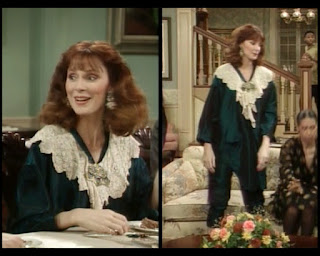 Cosby Show Huxtable fashion blog 80s sitcom Gates McFadden