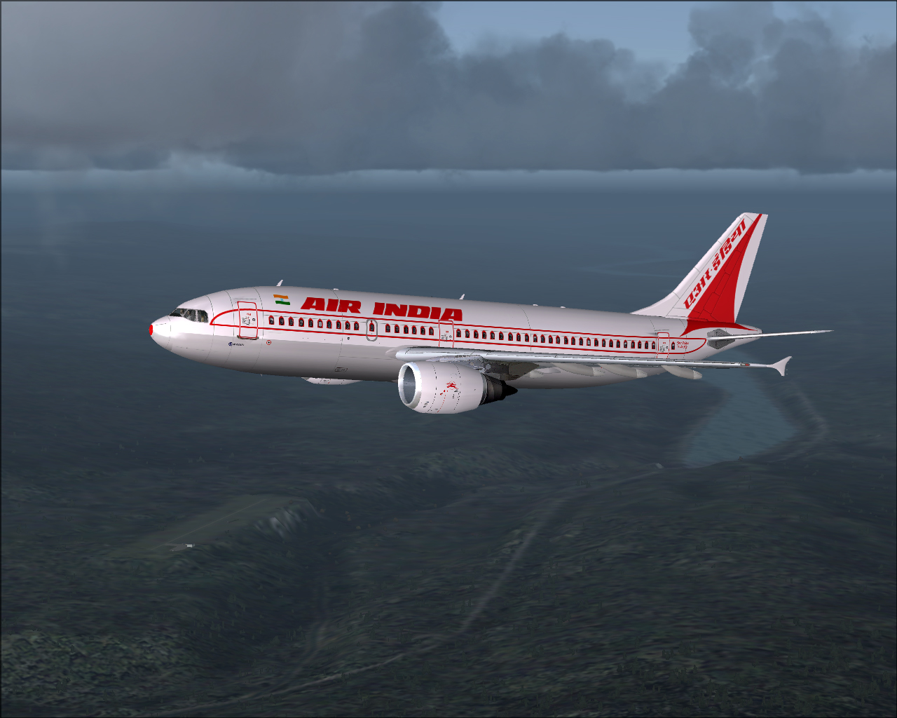 Download this Air India Airlines picture