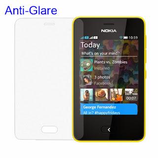 Matte Anti-Glare Screen Film Shield for Nokia Asha 501