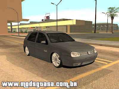 Vw Golf Flash + VR6 17 + Fiixa para GTA San Andreas