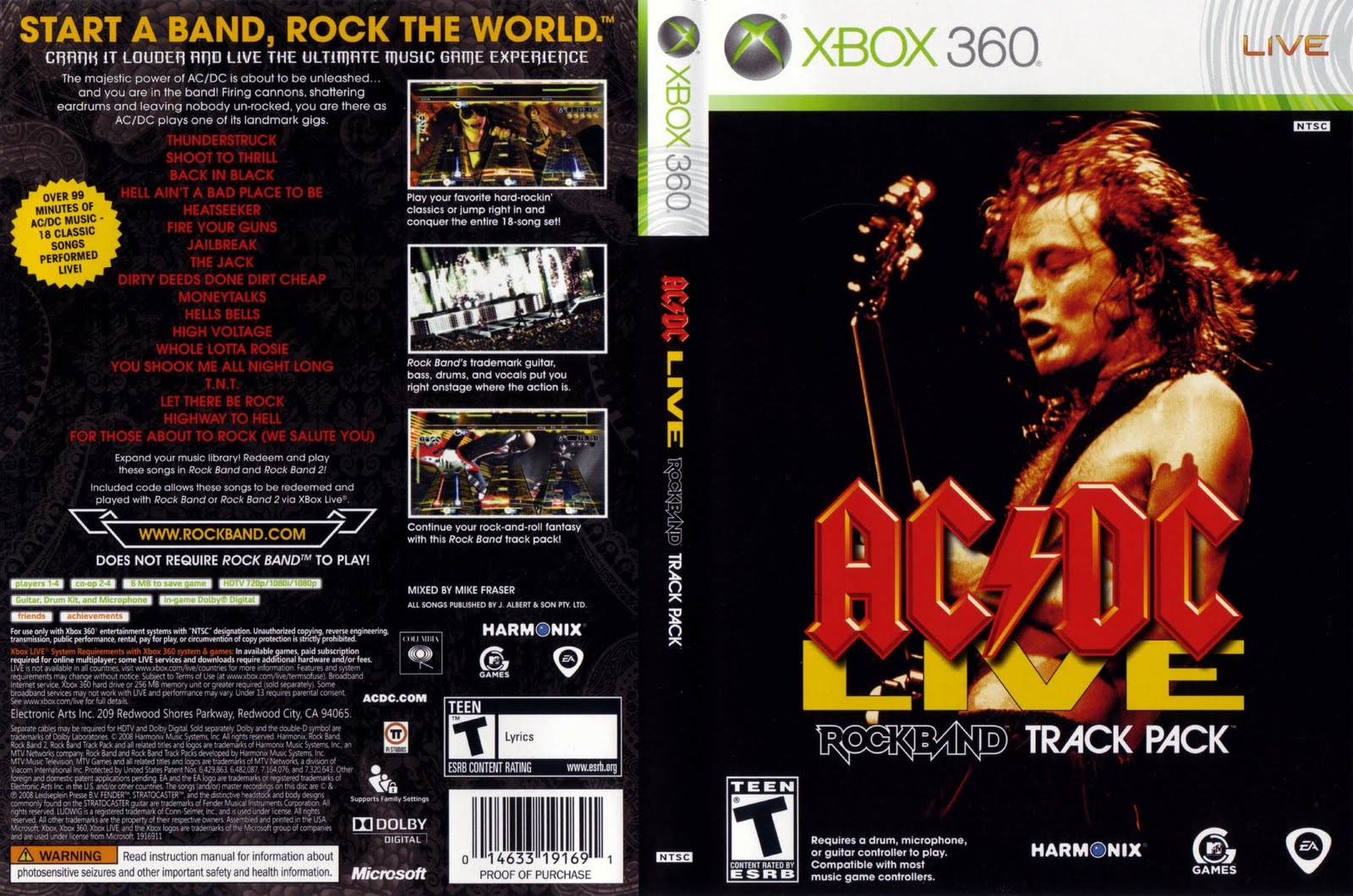 live the rock band: