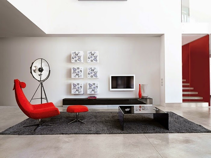 ideas for wall unit designs with storage for small living rooms