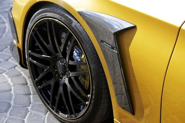 目立ちたい大富豪向け?ブラバスがドバイモーターショーでゴールドカラーのベンツを公開!「ブラバス・ロケット900 デザートゴールドエディション」