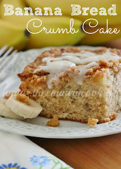 Banana Bread Crumb Cake