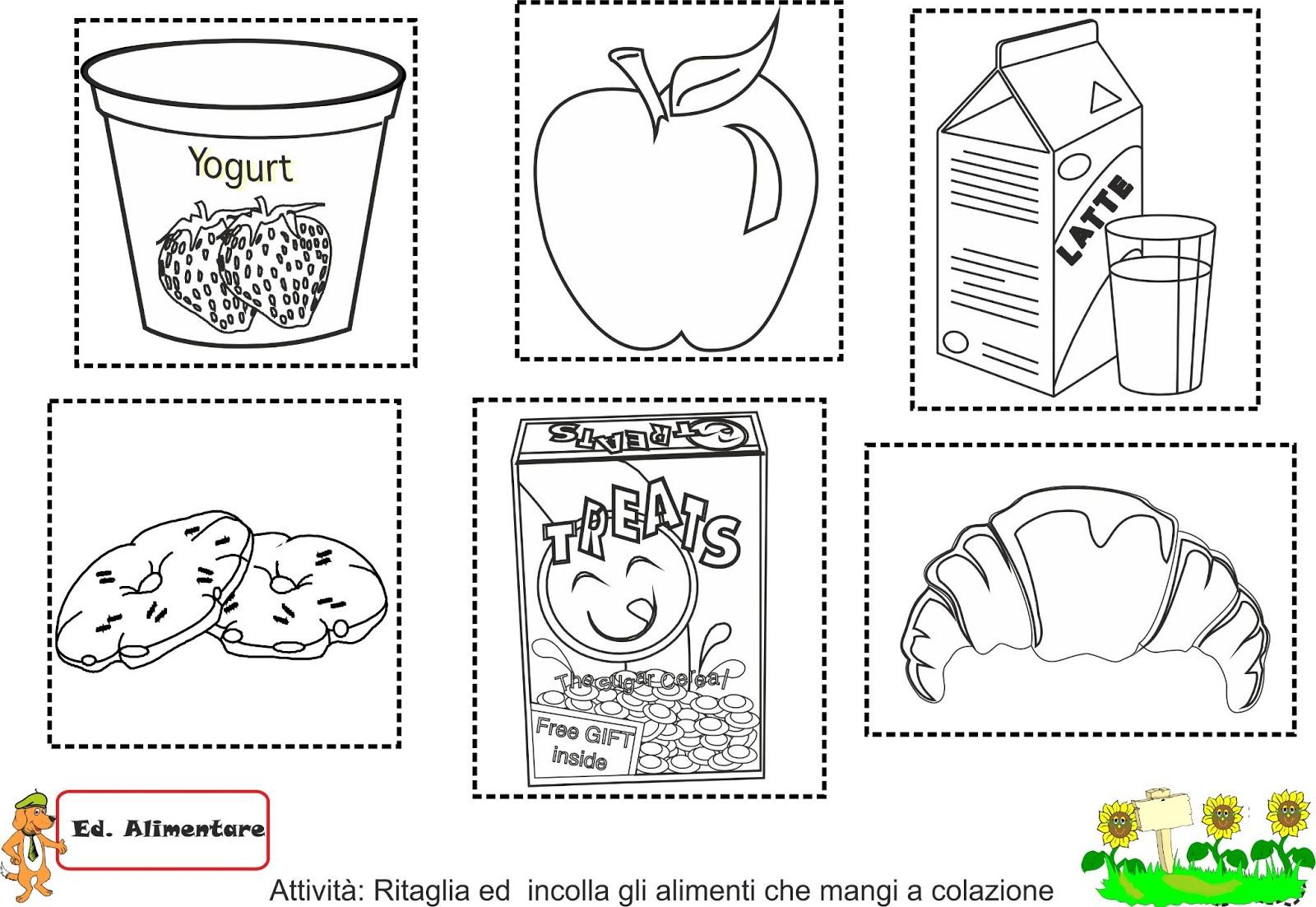 Favoloso Progetto Alimentazione Scuola Primaria Schede UT84 » Regardsdefemmes KF37