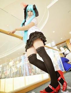 Vocaloid Hatsune Miku World is Mine cosplay by Irori