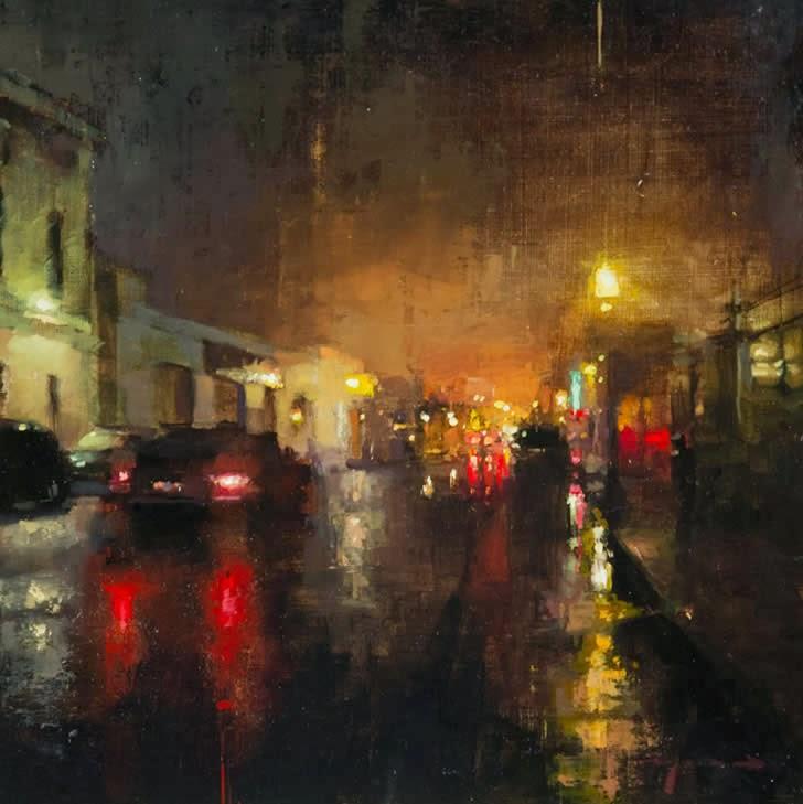 Jeremy Mann Jeremy+Mann+1979+-+American+Impressionist+painter+-Maher+Art+Gallery13