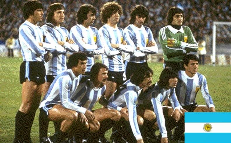 Finale de la coupe du Monde de Football 1978 Argentine