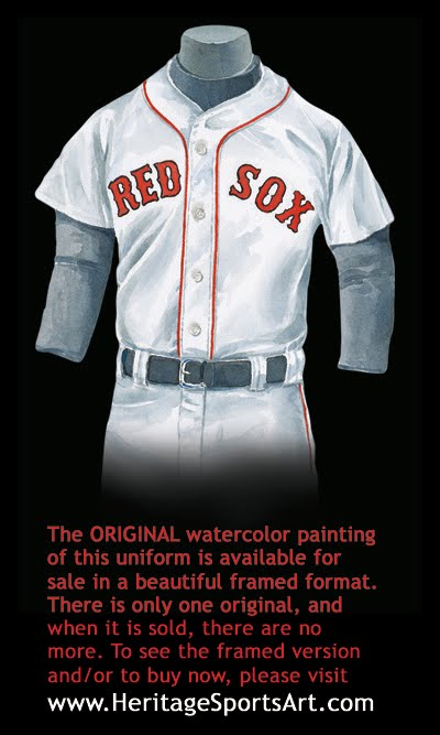 Boston Red Sox Uniform And Team History Heritage