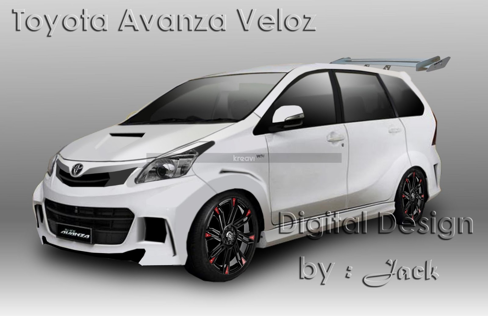 together with Gambar New Avanza Veloz 2015 further Interior Avanza ...