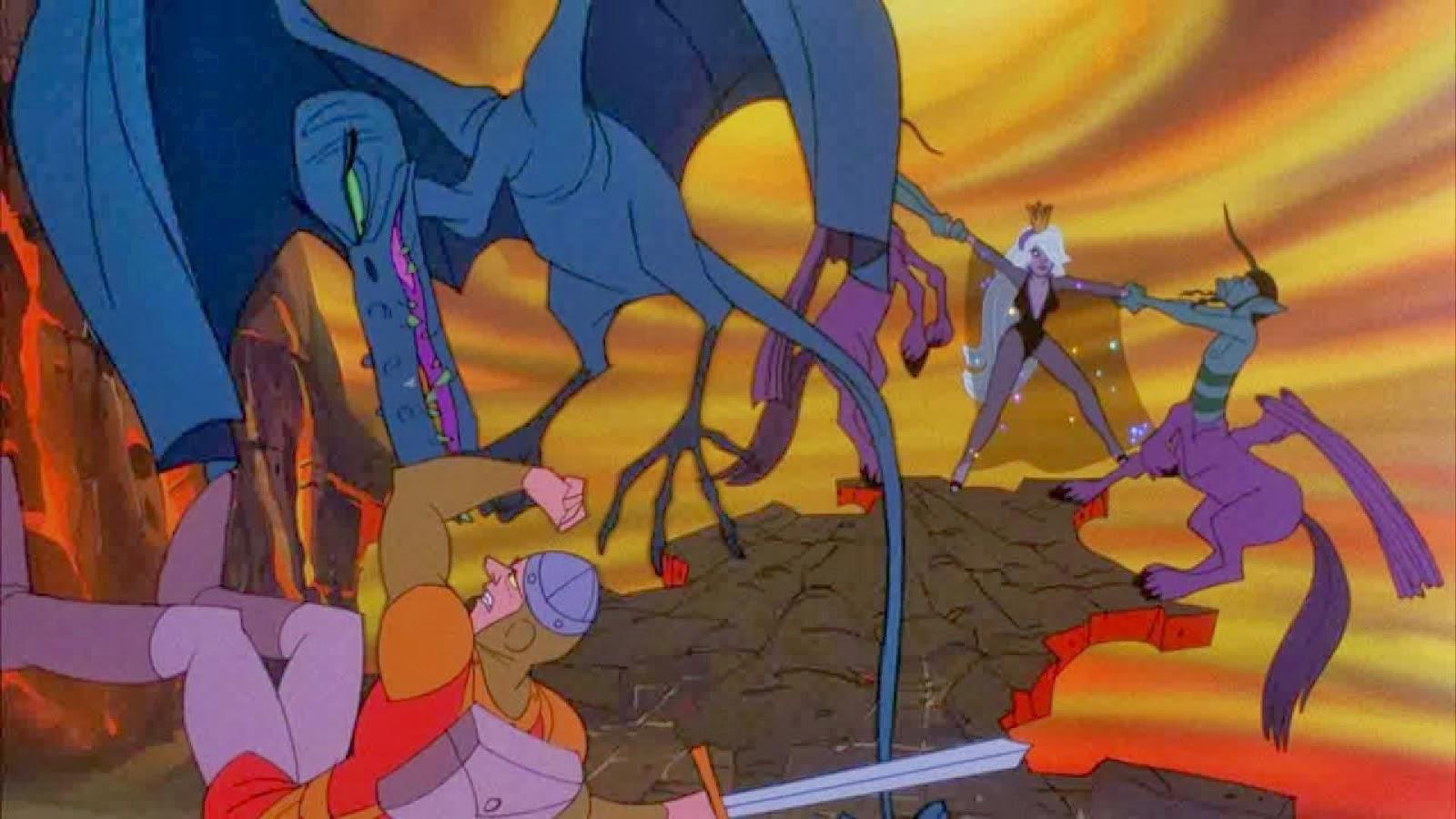 Dragon's Lair 2: La máquina del tiempo para Android, el videojuego clásico con animaciones de Don Bluth