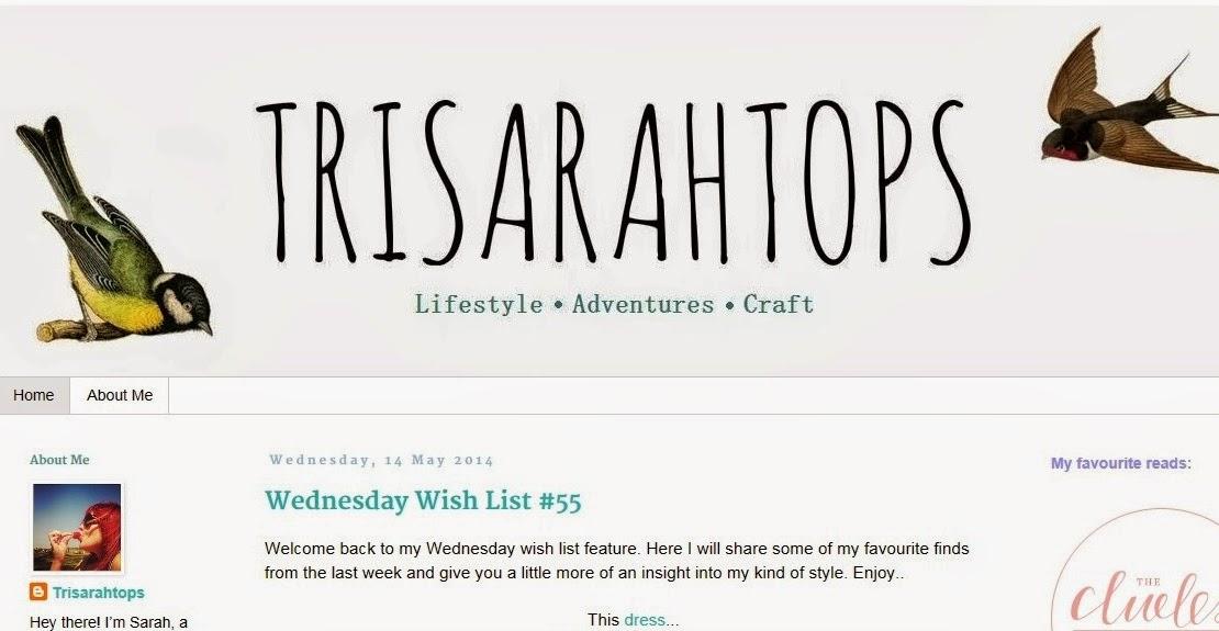 Trisarahtops Blog
