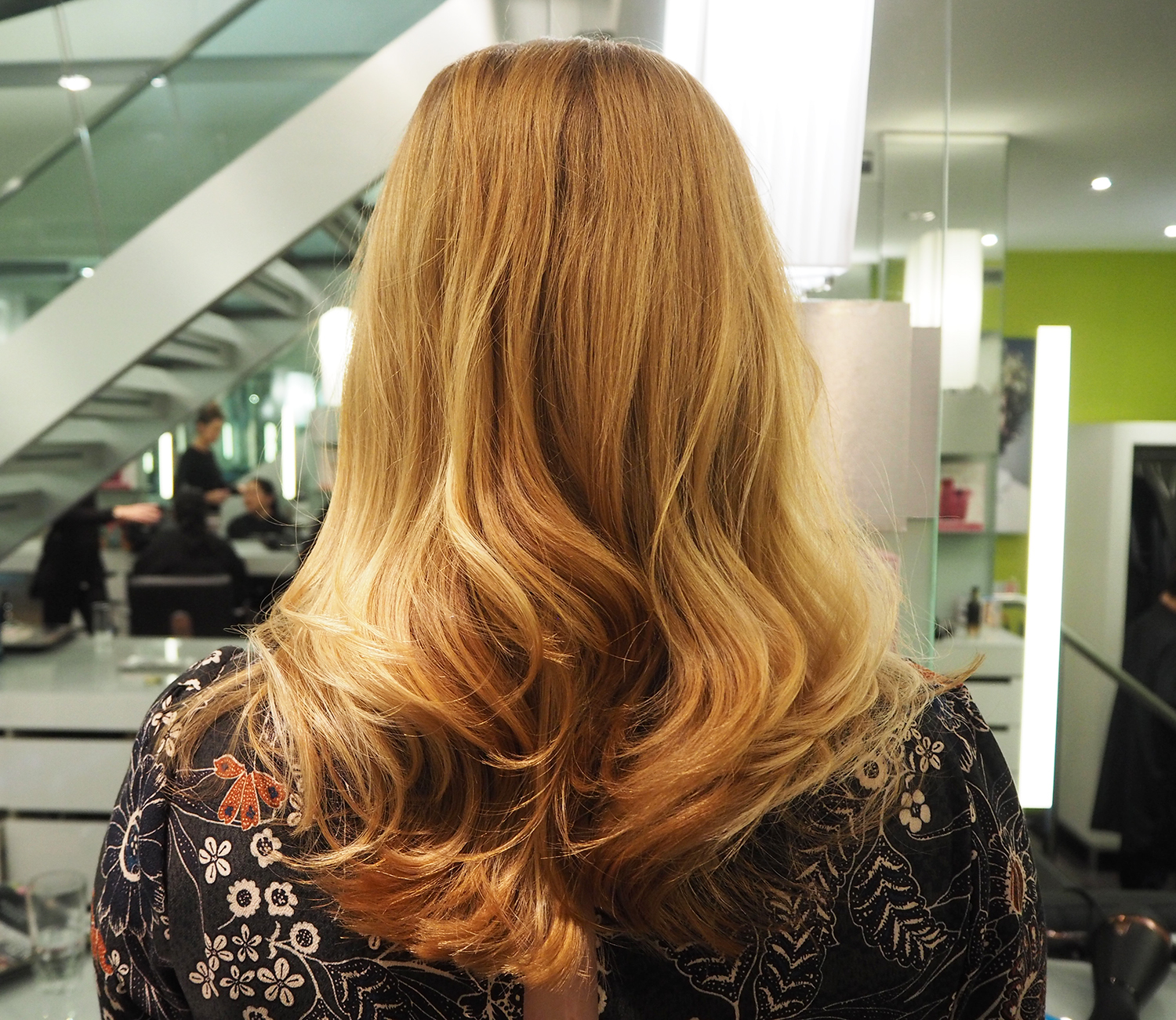 Hair: colour strobing at Chalres Worthington London