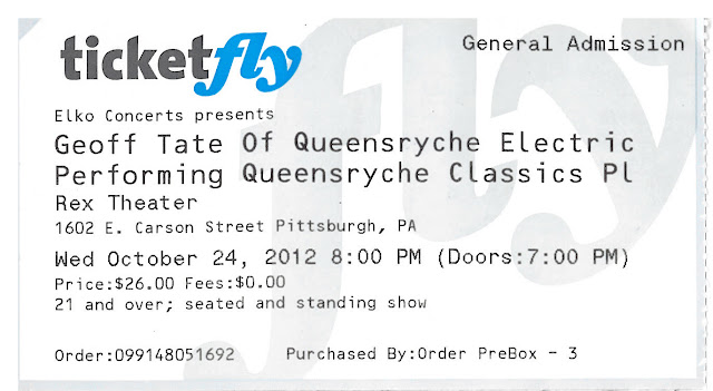 Geoff Tate Oct 24 2012 Scream For Me Four Decades Of Live
