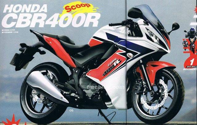 2013 cbr 400 Honda bike