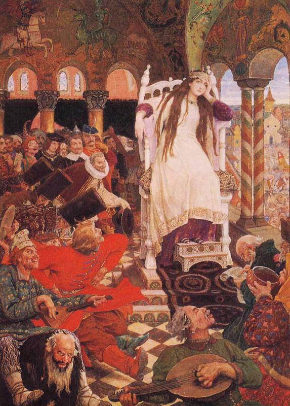 viktor vasnetsov tsarevna
