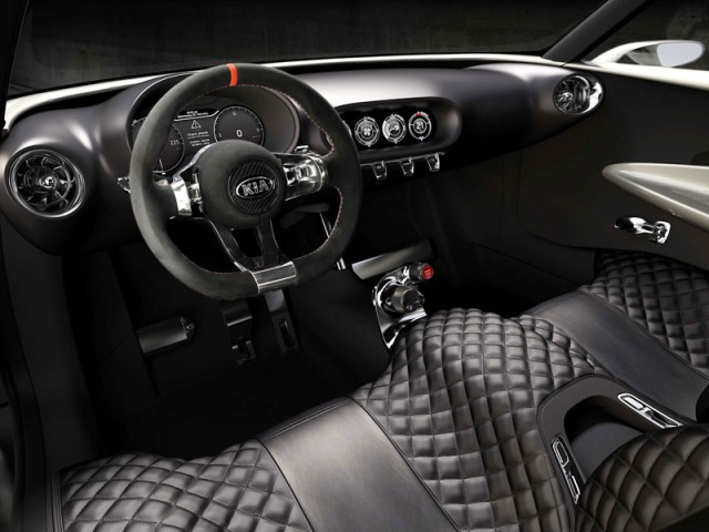 Kia Provo new 2013 interior