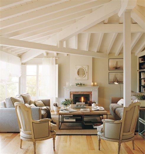 Blog by nela salones con calor de hogar with home heat for Salones acogedores