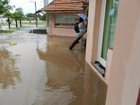 Recurrentes inundaciones en Embalse