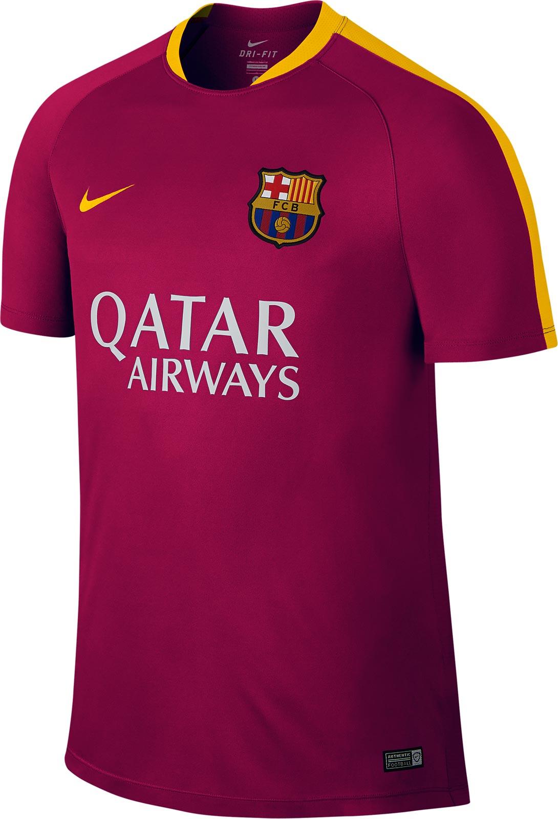 barcelona trainingsshirt