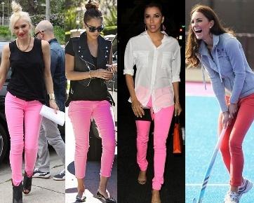 Tips Memadukan Celana Jeans Warna Pink