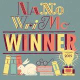 NaNoWriMo Winner #2015