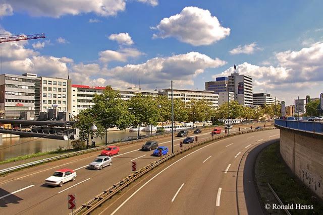 Saarbrücken - Stadtautobahn - Luisenbrücke - Berliner Promenade