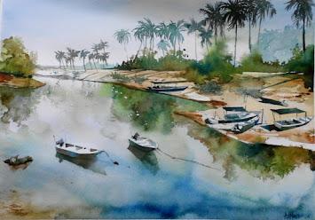 Watercolor: Siri Pantai Marang