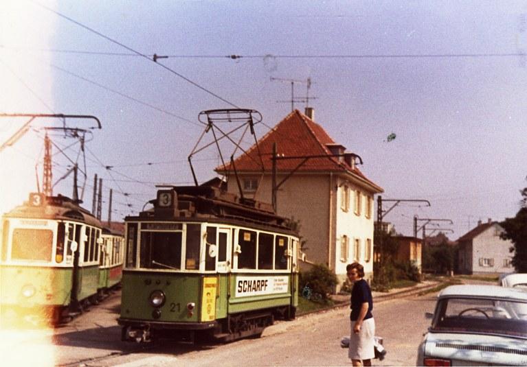 Oferdingen Stra Enbahn Am Depot