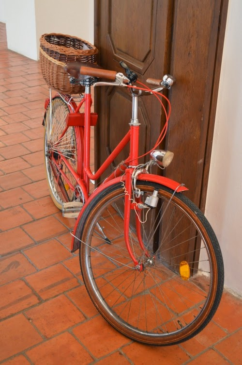 bike, prague vintage fair 2014, red, retro