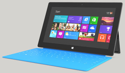 Microsoft Surface Tablet - tecnogeek.es