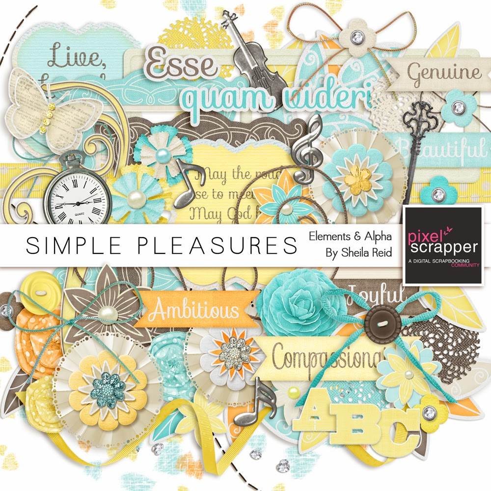 "Mini Kit Designer Challenge :: ""Simple Pleasures"""