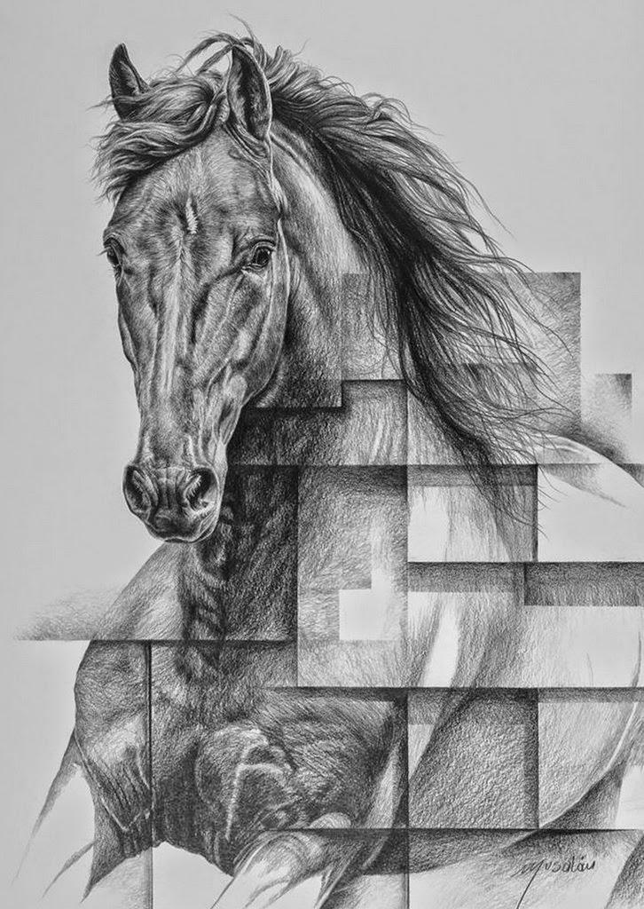 caballos-dibujos-a-lapiz