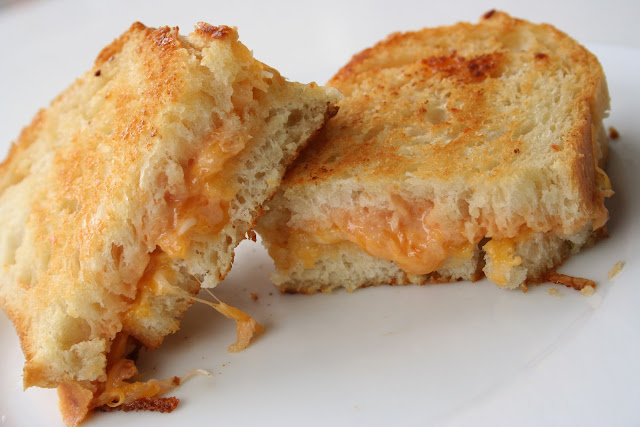 For the Love of Food: The Best Grilled Cheese Sandwich