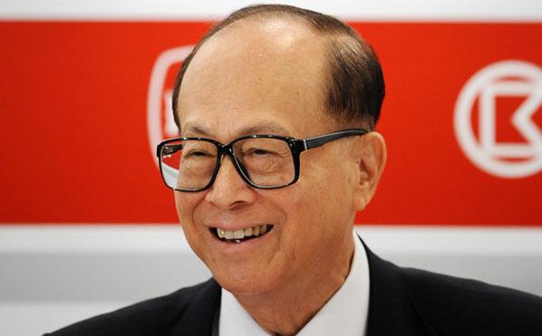 Lý Gia Thành, tỷ phú Hong Kong