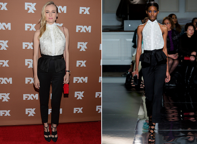 DİANE KRUGER İN JASON WU (FALL 2013 RTW) -2013 FX UPFRONT BOWLİNG EVENT