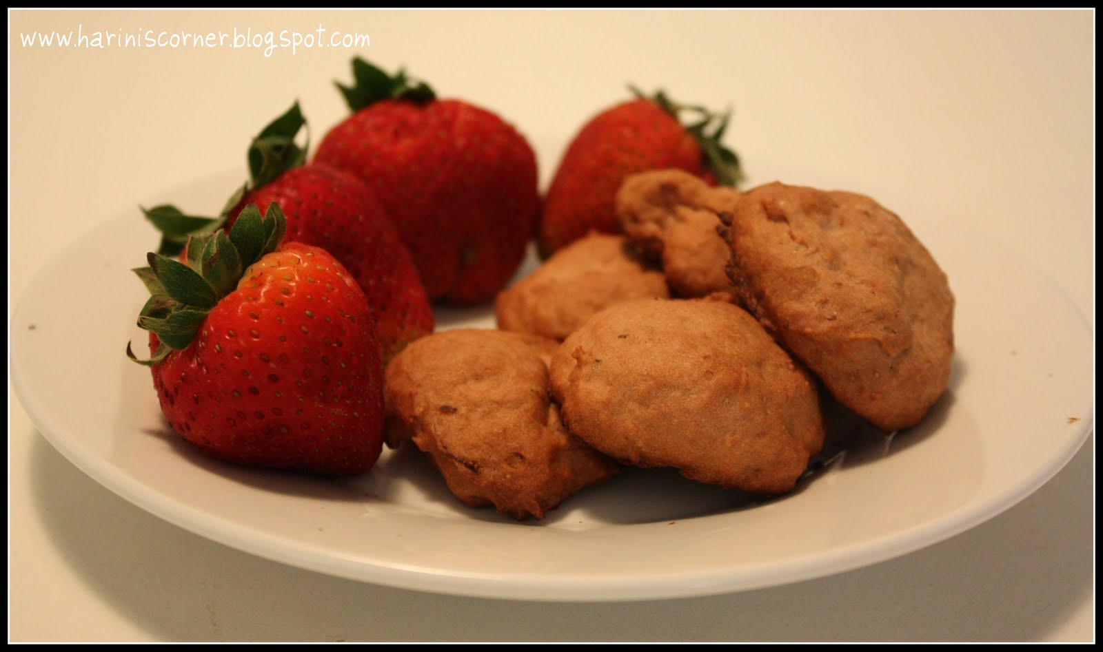 Strawberry drop cookies
