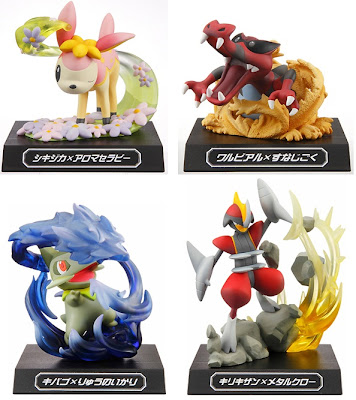 Pokemon Figure Waza Attacks Museum Figure Banpresto Vol 002