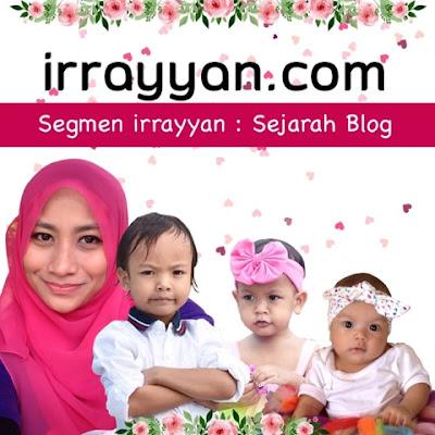 Segmen irrayyan | Sejarah Blog AziRahmanDotCom