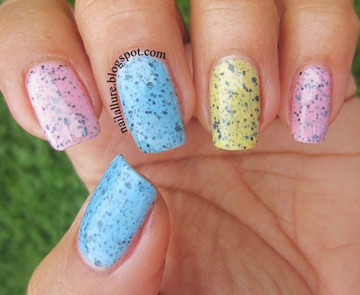 Models Own Speckled Eggs Manicure