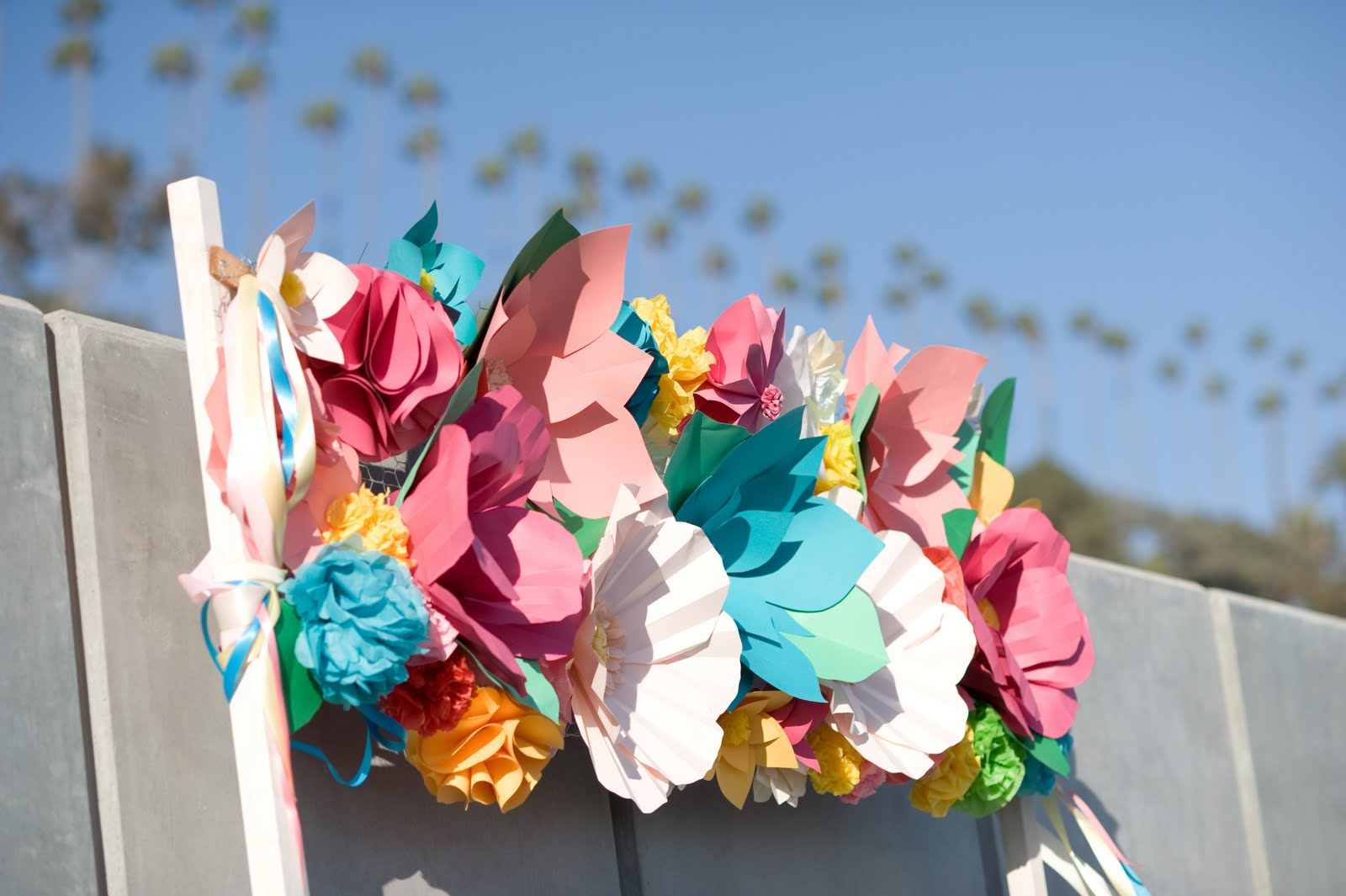 Icing Designs DIY Paper Flowers