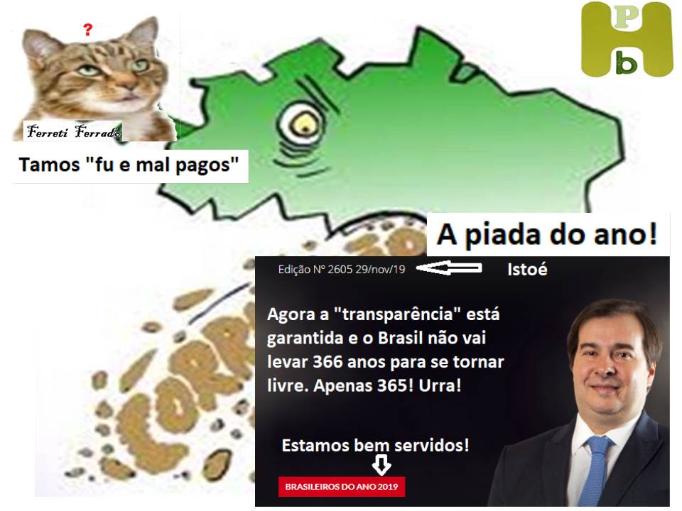 A piada do ano