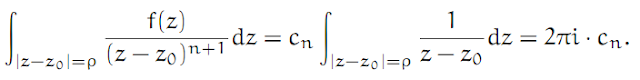 Complex Analysis: #15 The Laurent Series equation pic 8