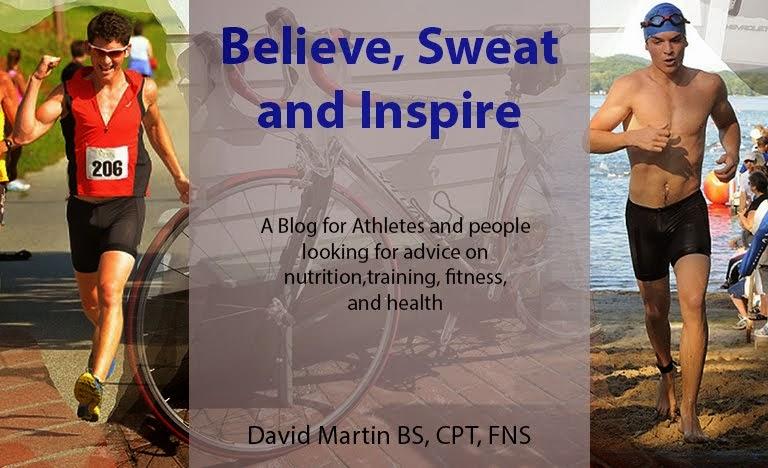 Believe, Sweat, and Inspire.