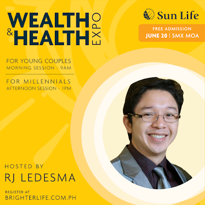 Be #Fit2LiveFree: Join Sun Life Financial PH Wealth And Health Expo